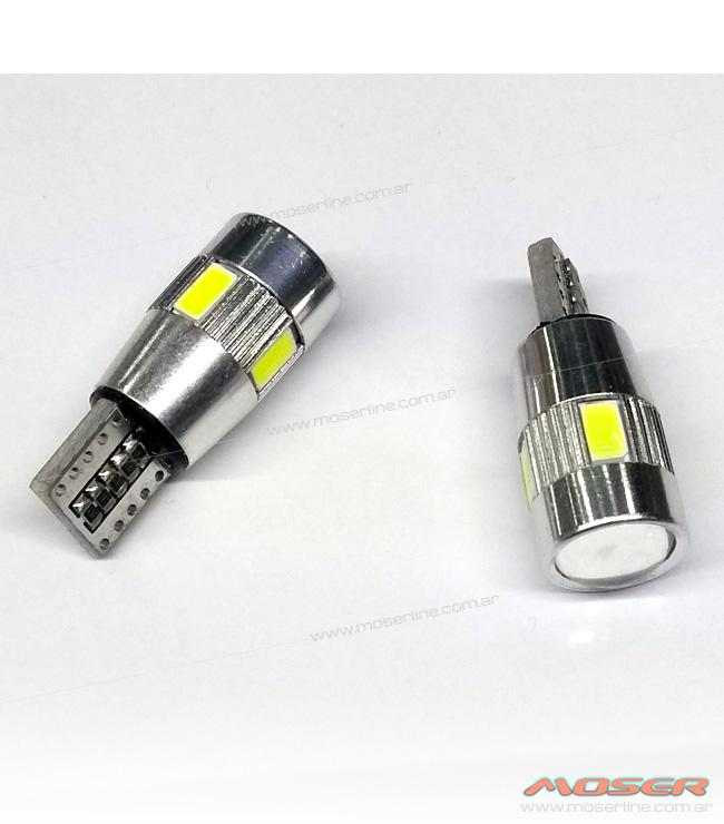 Led T10 Can Bus con lupa - Imagen 1