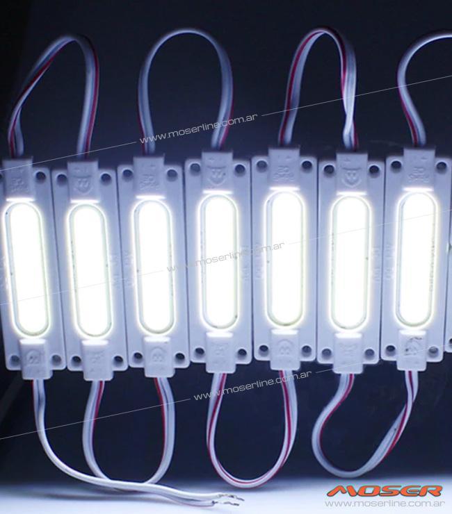 Modulo de LED COB Blanco / Azul / Rojo / Ambar 12v - Imagen 2