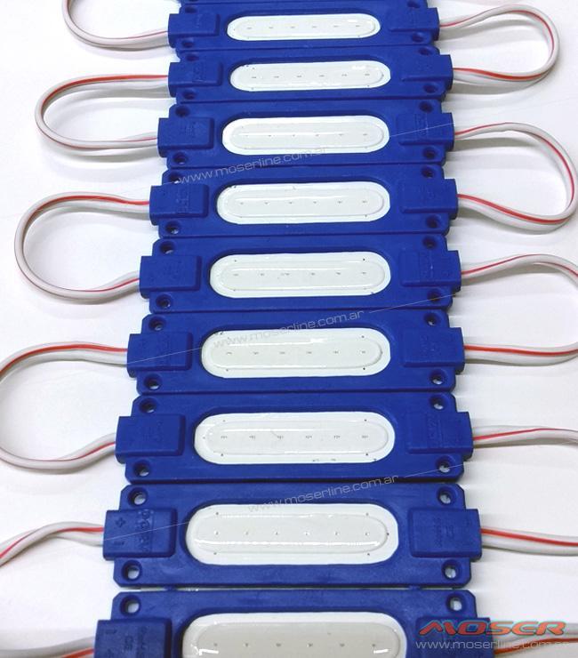 Modulo de LED COB Azul 12v - Imagen 1