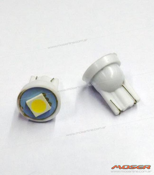 Led T10 1 SMD blanco - Imagen 1