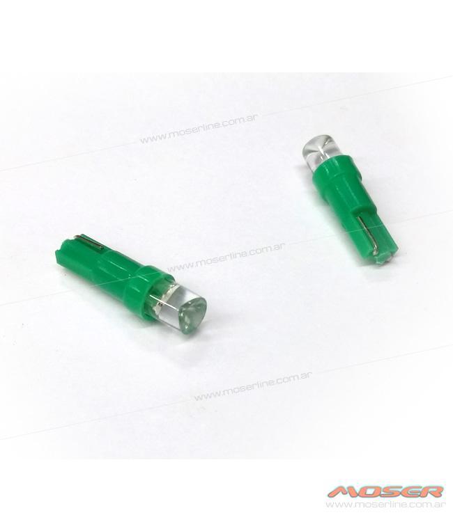 Led T5 Piojito Comun Verde - Imagen 1
