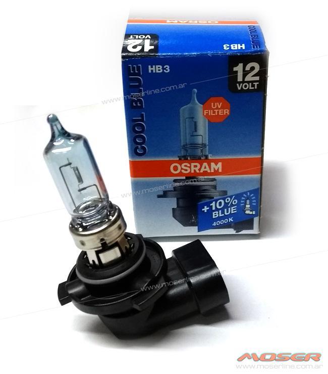 Lampara HB3 / 9005 12V 60W Osram Cool Blue 4000K +10%  - Imagen 1