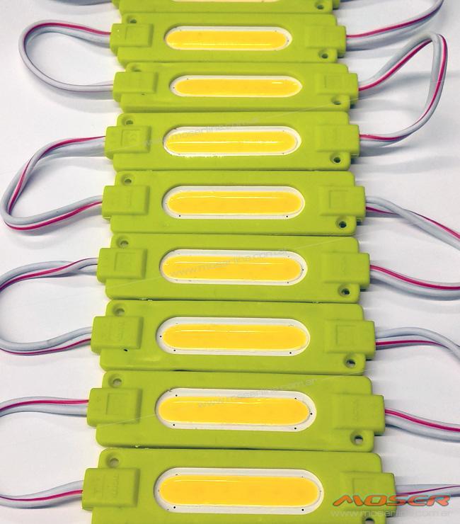 Modulo de LED COB Ambar 12v - Imagen 1