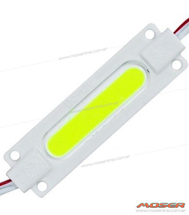 Modulo de LED COB Blanco / Azul / Rojo / Ambar 12v - Imagen 1
