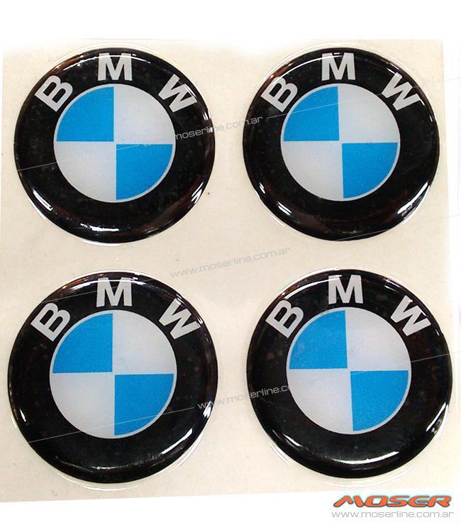 Centros de llanta BMW 49mm en resina - Imagen 1