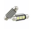 Led tubular 3 SMD Can Bus 12v