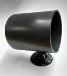 Carcaza instrumental 52mm plastica negra