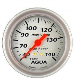 Temperatura de agua  2m plata linea High Comp 66mm