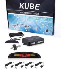 Sensor para Estacionamiento Universal Negro Kube