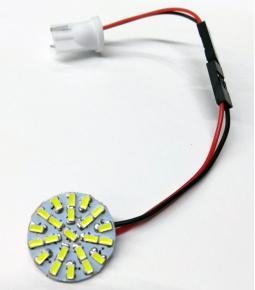 Plaqueta Circular con 22 Led adhesiva - Diámetro 20mm