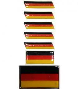 Banderas Alemania resina varios tamaños