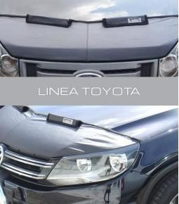 Media mascara de cuerina con felpa interior. Linea Toyota Hilux, Corolla.
