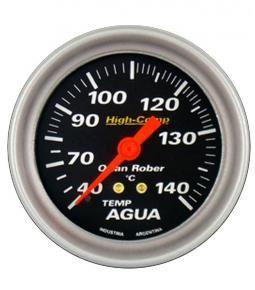 Temperatura de agua  2m negro linea High Comp 66mm