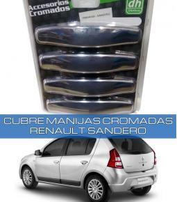 Cubre Manijas Cromadas Renault Sandero / Symbol 2007+