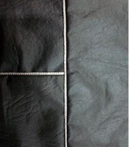 Fundas cubre asientos universal completa cuerina con ribetes gris, rojo, azul, negro