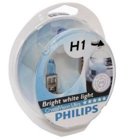 Kit de lamparas Crystal Vision H1 + w5w