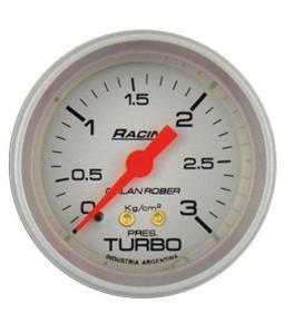 Presion de turbo 3Kg racing plata