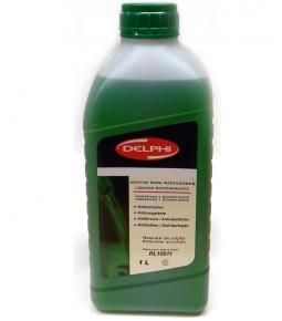 Liquido Refrigerante Delphi para Radiadores 1L Verde / Orgánico y Concentrado / Anticorrosivo / Anticongelante