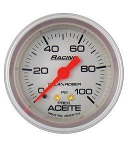Presion aceite 100psi racing plata
