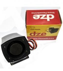Bocina Piezoeléctrica de retroceso DZE