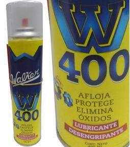 Lubricante W400 - Afloja, protege, elimina óxidos