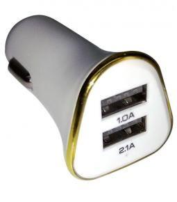 Cargador USB doble 1.0A y 2.1A
