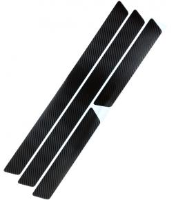 Cubre Zocalos Simil Carbono x 4 unidades