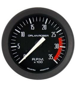 Tacometro Diesel 3500 rpm  80 mm Classic
