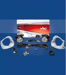 Kit faros auxiliares Clio Mio 12+ / Duster 11+ / Sandero 07/10 / Logan 07/09