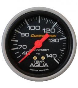 Termómetro de agua mecánico linea competición 60mm