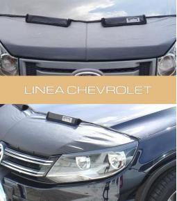 Media mascara de cuerina con felpa interior. Linea Chevrolet Astra, Agile, Aveo, Prisma, Onix, Vectra, Zafira, Blazer, Celta, Corsa, Cruze, Meriva, Spark, Spin