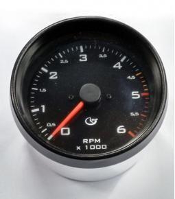 Tacometro Diesel 6000 RPM 100mm SIAP