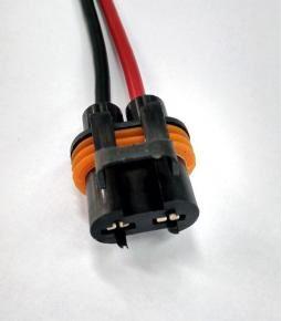 Ficha 2 vías para electro