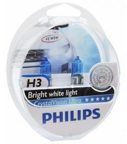Kit de lamparas Crystal Vision H3 + w5w