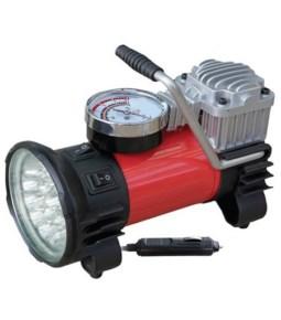 Compresor reforzado con linterna LED