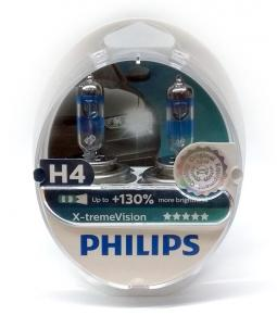Lamparas H4 Philips X-tremeVision +130%