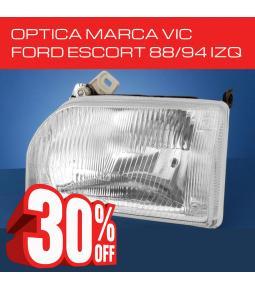 Optica Ford Escort 88/94 Izquierda VIC
