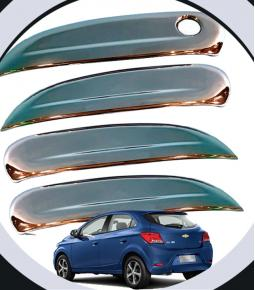 Cubre Manijas Cromadas Chevrolet Onix / Prisma / Spin / Cobalt