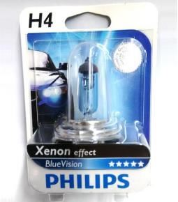 Lampara H4 60/55w Blue Vision