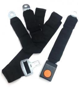 Cinturón de seguridad delantero con cinta