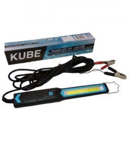 Portatil LED 12V KUBE Plana 2 Funciones / Cable 5 mts