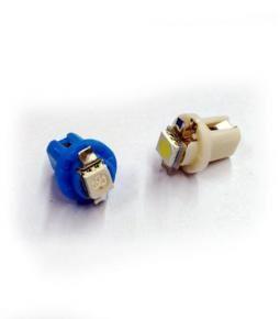 Led circuito impreso un led Blanco y Azul