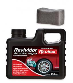 Revividor de color negro 490 cm3