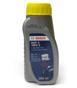 Liquido de Frenos Bosch Tipo DOT 3 200 ml.