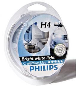 Kit de lamparas Crystal Vision H4 + w5w