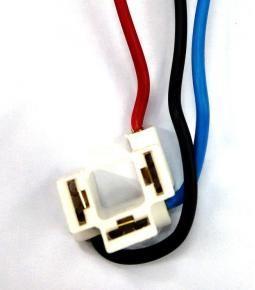 Ficha de 3 vías para lampara H4