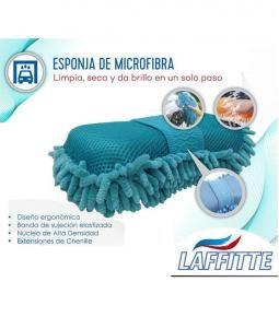 Esponja de Microfibra - Limpia, Seca y da brillo en un solo paso