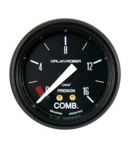 Presión de combustible Classic 0-16 lbs