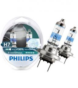 Lamparas H7 Philips X-tremeVision +130%