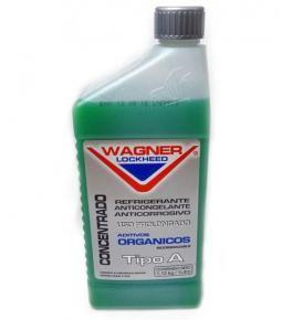 WAGNER LOCKHEED, Refrigerante Anticongelante Anticorrosivo, 1L concentrado verde